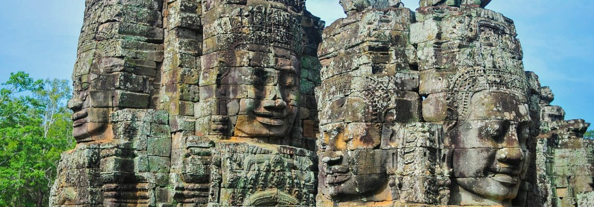 Angkor Wat Temples in Cambodia