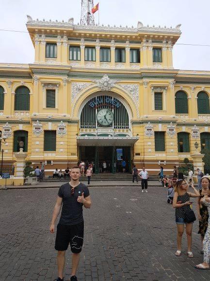Altes Postoffice Saigon