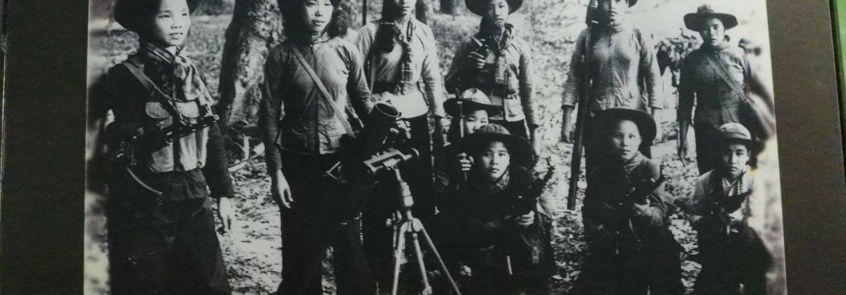 Femal Artillery Squad Cu Chi