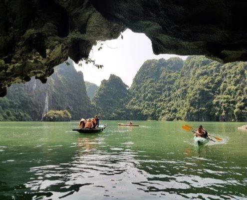 Halong Bay Boote