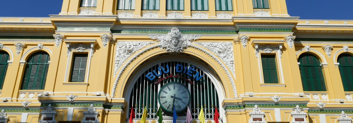 Historical Post Office Ho Chi Minh City