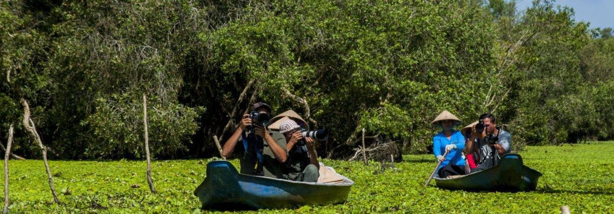 River scenery at Mekong Delta