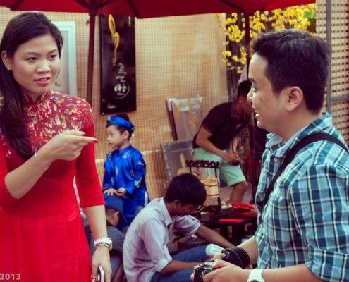 Saigon people