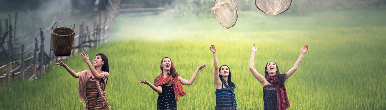 Countryside Woman Vietnam