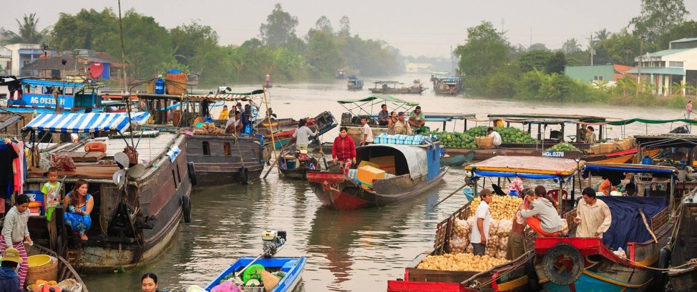 Floating Market Vietnam