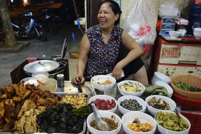 Straßenhändler Vietnam