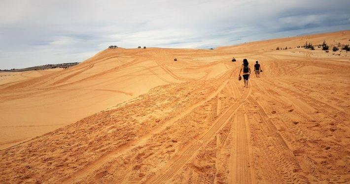 AT the Dunes Mui Ne