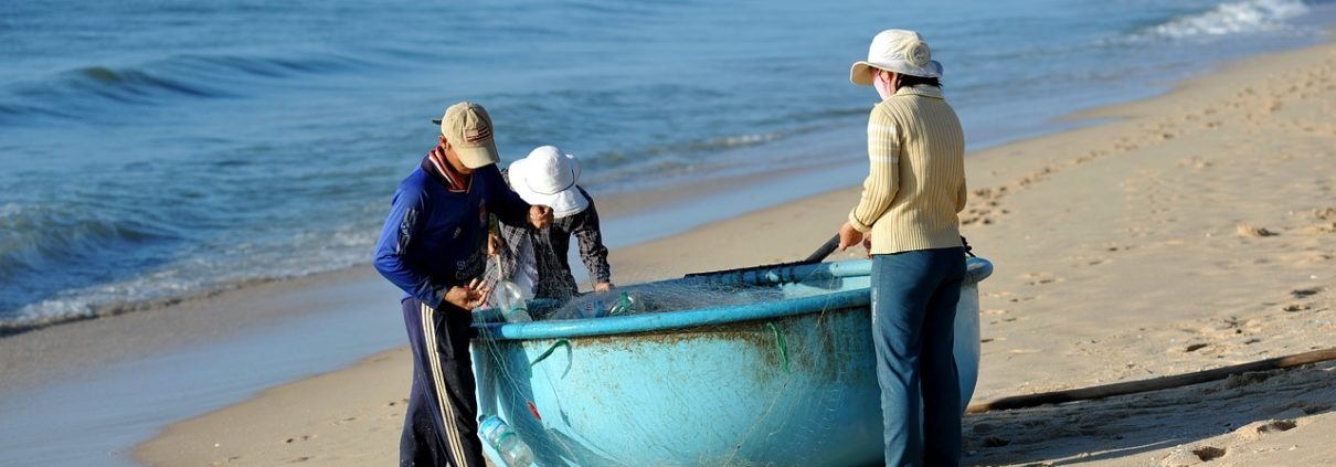 Fishermen at Mui Ne