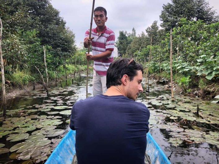 Boat at Fuit Garden