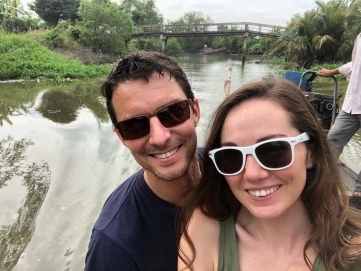 Happy Smiles at the River
