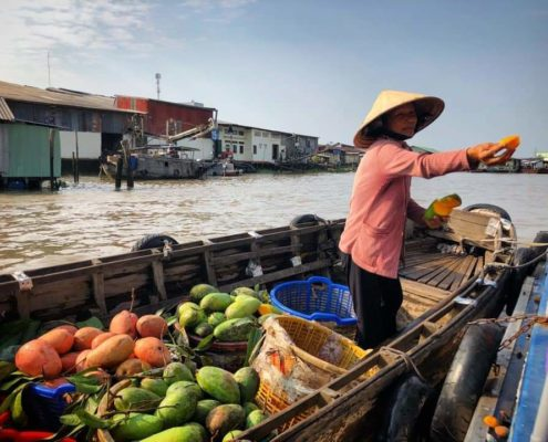 Fruit Dealer Mekong Delta