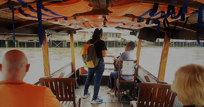 Boat at Cai Be