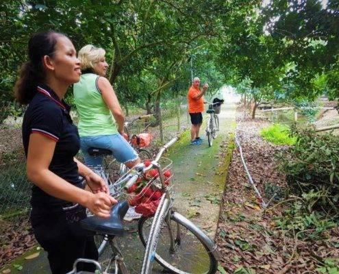 Bicycle at Vinh Long