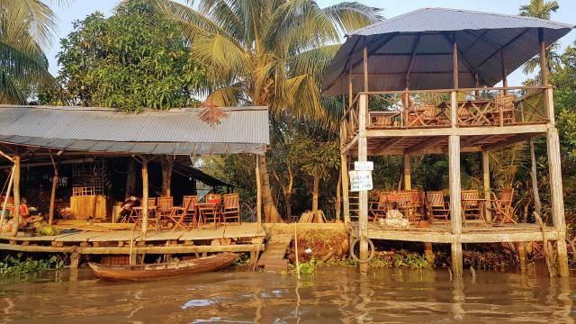 Coffeeshop at Mekong Delta