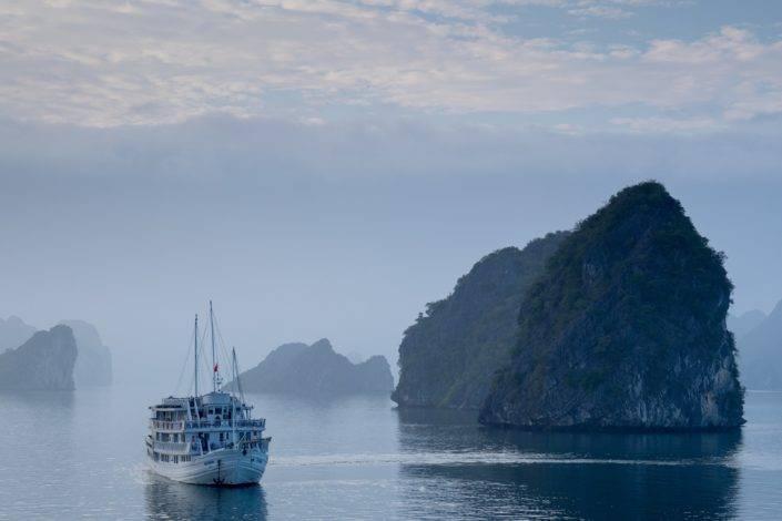 Mystische Halong bay