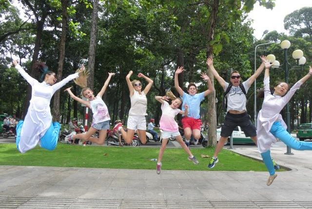 Happy in Saigon