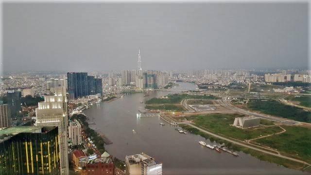 City view Saigon by day