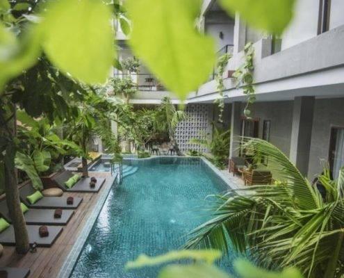 Sarina Botique Hotel PP Swimming Pool