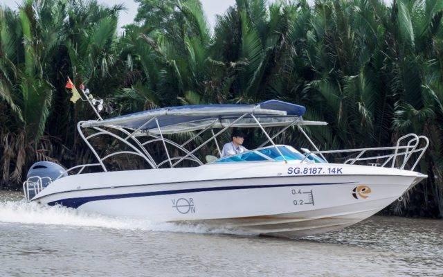 Mekong Delta Tour mit dem Speedboat