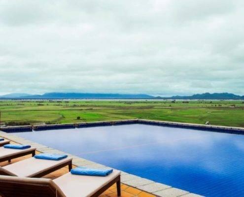 Victoria Nui Sam Lodge Swimming Pool