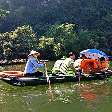 Trang An Boat