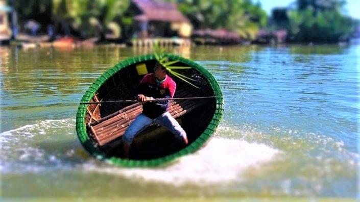 Basket Boat Hoi An
