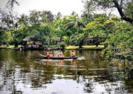 Binh Quoi Village Boat