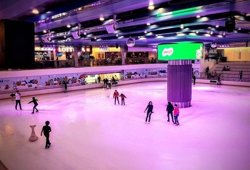 Ice Stadium Landmark 81
