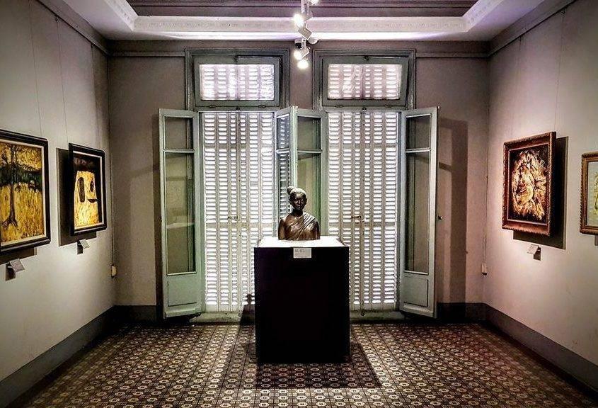 Ausstellung Kunstmuseum Saigon